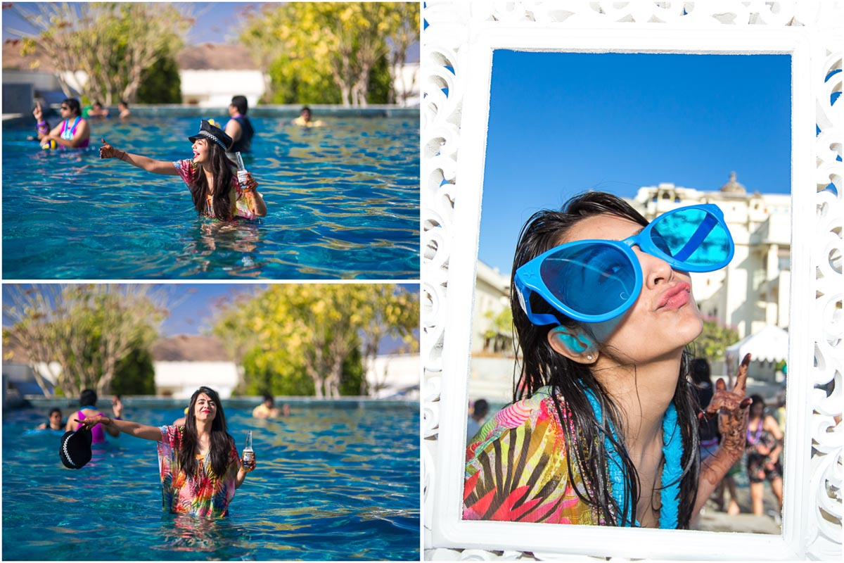 18 pool party devigarh candid indian wedding photography