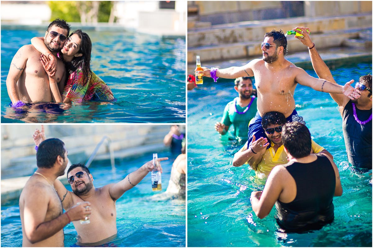 20 pool party devigarh candid indian wedding photography